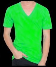 63918fde30d2 Fluorescent   Neon V-Veck T-Shirts Assorted Colors